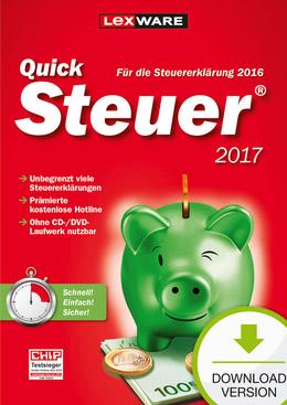 QuickSteuer 2017 (für Steuerjahr 2016) für PC(WIN)