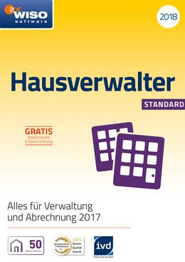 WISO Hausverwalter 2018 Standard für PC(WIN)