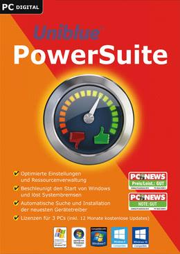 Uniblue PowerSuite 2017 für PC(WIN)