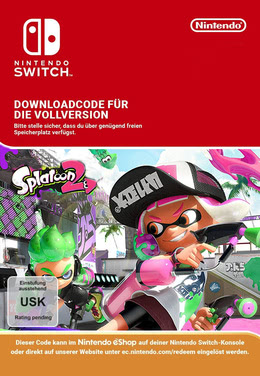 Splatoon 2 für SWITCH