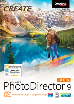 CyberLink PhotoDirector 9 Ultra für MAC
