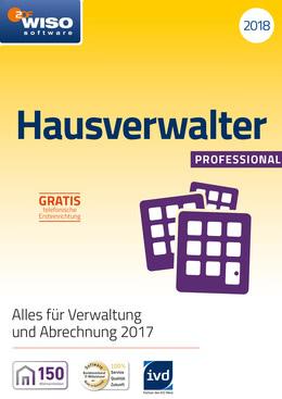 WISO Hausverwalter 2018 Professional für PC(WIN)