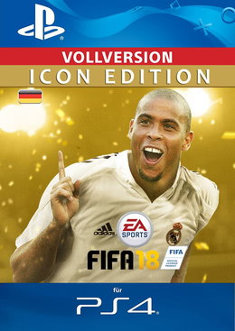 Fifa 18 Icon Edition für PS4