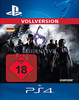 Resident Evil 6 für PS4