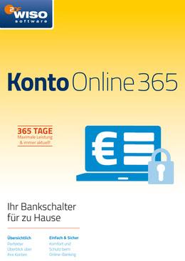 WISO Konto Online 365 Tage (Version 2018) für PC(WIN)