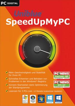 Uniblue SpeedUpMyPC 2017 für PC(WIN)