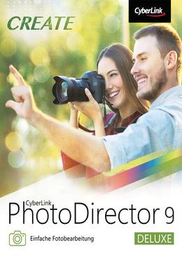 CyberLink PhotoDirector 9 Deluxe für PC(WIN)
