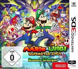 Mario & Luigi: Superstar Saga + Bowsers Schergen für NINTENDO3DS