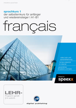 Sprachkurs 1 Français für PC(WIN)