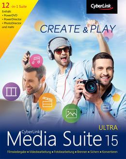 CyberLink Media Suite 15 Ultra für PC(WIN)
