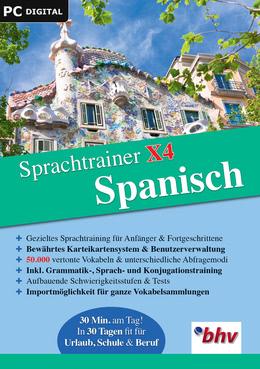 Sprachtrainer X4 Spanisch für PC(WIN)