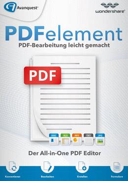 Wondershare PDFelement 6 (ohne OCR-Texterkennung) - lebenslange Lizenz für PC(WIN)