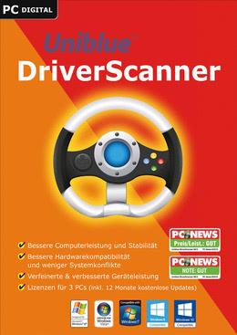Uniblue DriverScanner 2017 für PC(WIN)