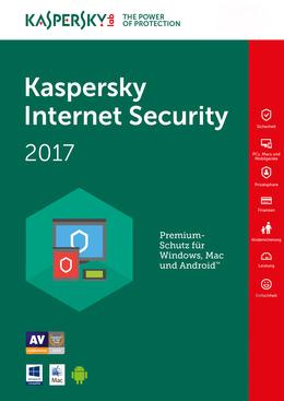 Kaspersky Internet Security 2017 - Upgrade von 2016: 3 Lizenzen 12 Monate auf 2017: 3 Lizenzen 12 Monate für MULTIPLATFORM