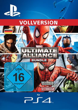 Marvel: Ultimate Alliance Bundle für PS4