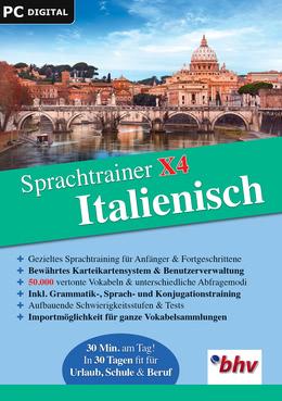 Sprachtrainer X4 Italienisch für PC(WIN)