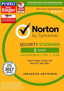 Symantec Norton Security 3.0 (2017) Standard - 1 Geräte für MULTIPLATFORM