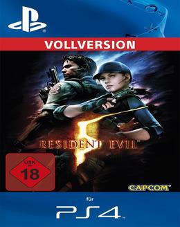 Resident Evil 5 für PS4