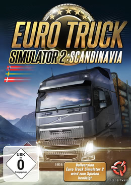Euro Truck Simulator 2 Scandinavia für PC(WIN)
