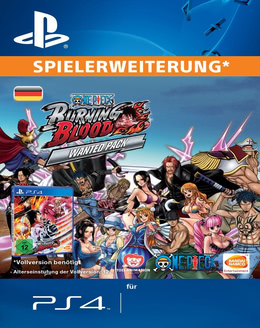 One Piece Burning Blood WANTED PACK für PS4