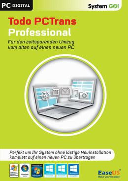 EaseUS System GO! Todo PCTrans Professional für PC(WIN)