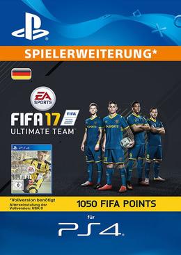 FIFA 17 1050 FUT Points Pack - Ultimate Team für PS4