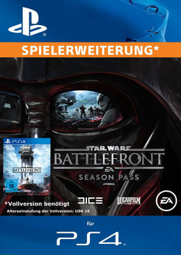 Star Wars Battlefront Season Pass für PS4