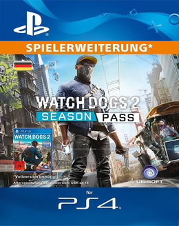 Watch Dogs 2 Season Pass für PS4