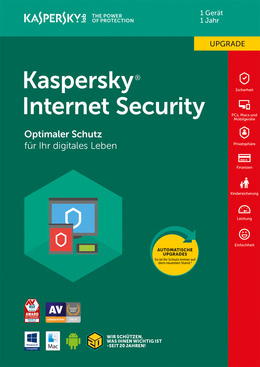 Kaspersky Internet Security (2018) - 1 Gerät / 12 Monate Upgrade für MULTIPLATFORM