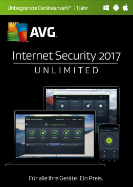 AVG Internet Security 2017 Unlimited 1 User / 12 Monate für MULTIPLATFORM