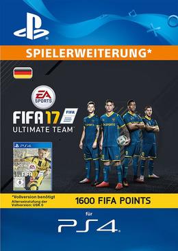 FIFA 17 1600 FUT Points Pack - Ultimate Team für PS4