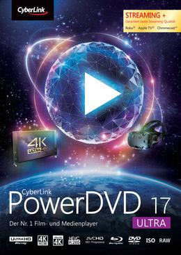 CyberLink PowerDVD 17 Ultra für PC(WIN)