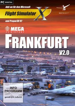 FSX Mega Airport Frankfurt V2.0 für PC(WIN)